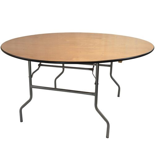 """wooden round table 60"""""""