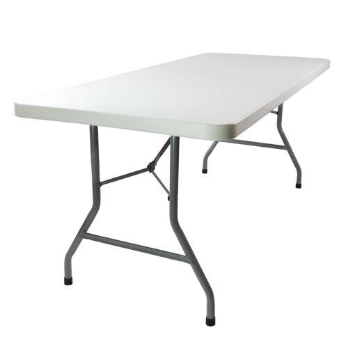 plastic rectangular table 6 x 30